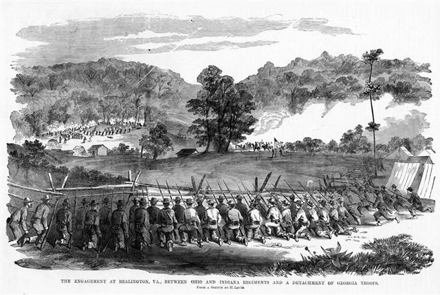 The First Georgia Regiment at Laurel Hill
